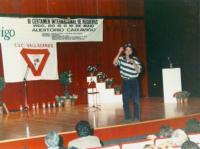 Pinto d´Herbón presentando a 3ª edición